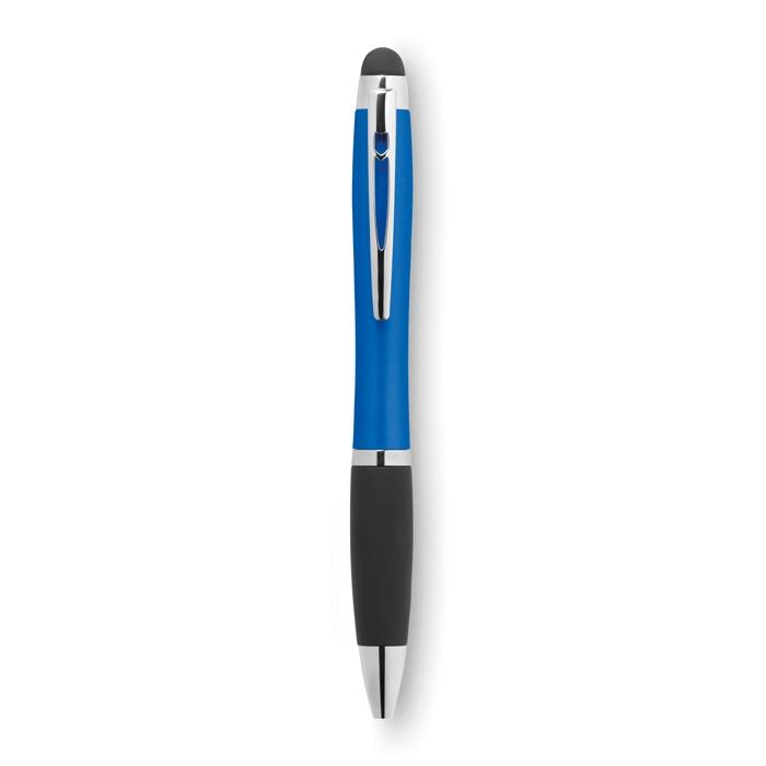 Cadeau d'entreprise - Stylo-stylet personnalisé twist lumineux Riolight