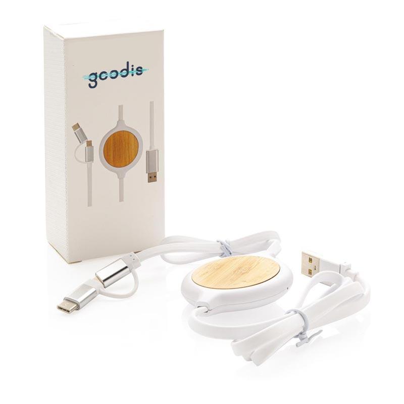 câble de charge avec packaging
