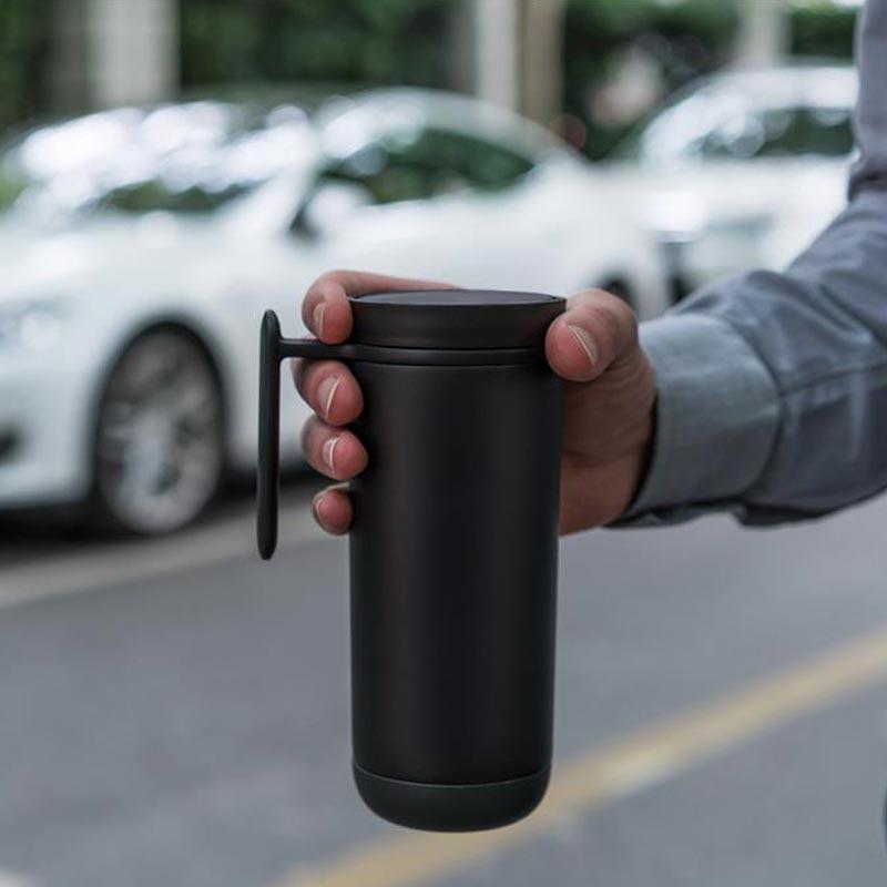 Mug publicitaire anti-fuites Click - cadeau publicitaire durable