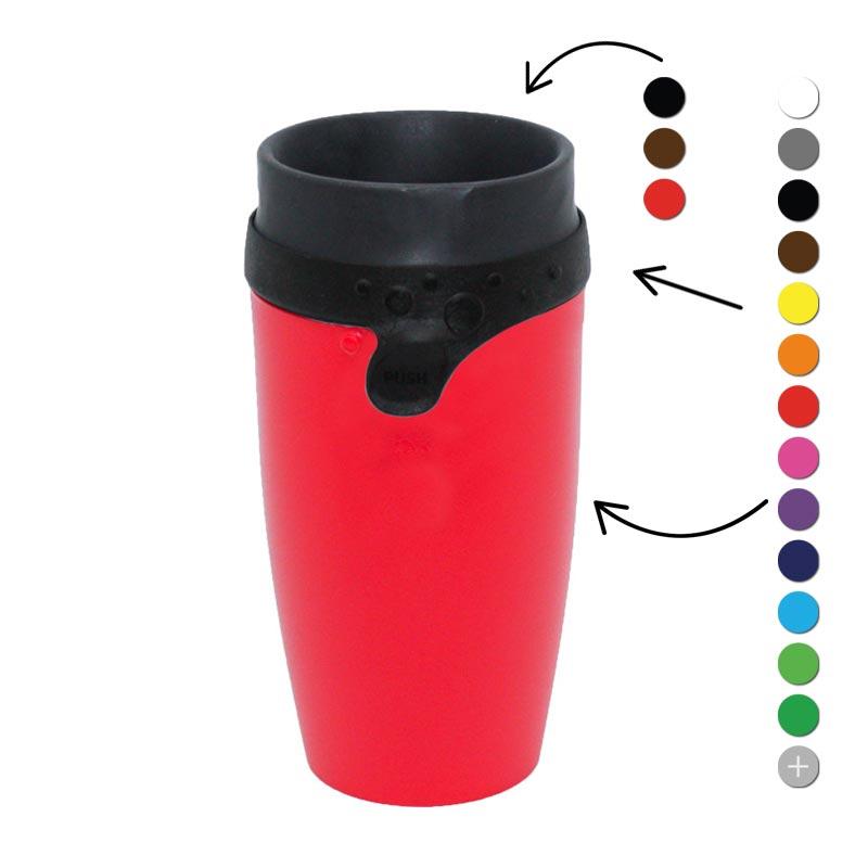 Mug isotherme publicitaire Twizz 350 mL - Coloris disponibles