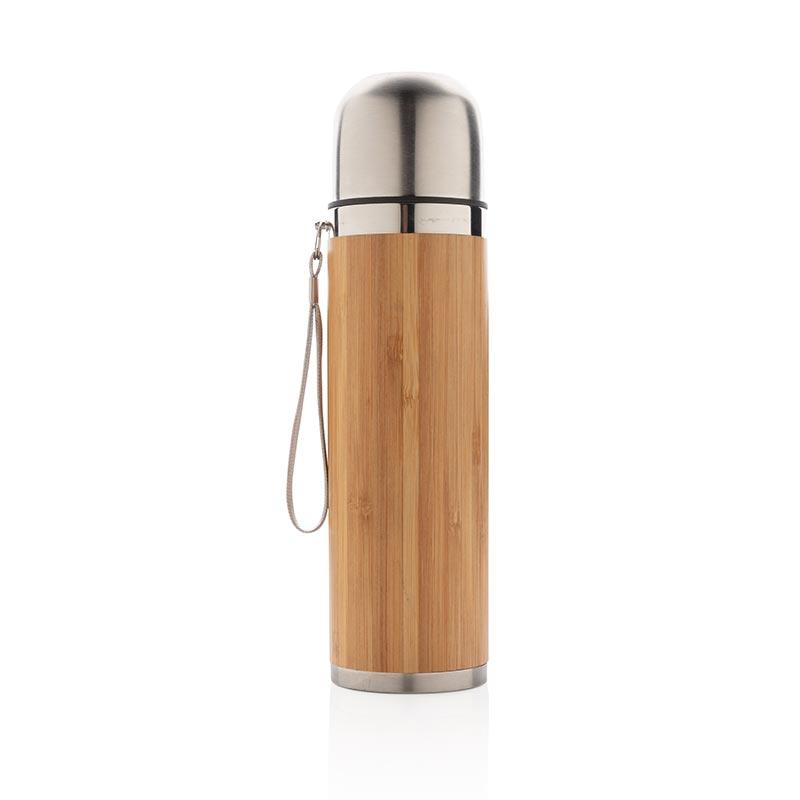 Cadeau publicitaire écologique - Bouteille isotherme Bambuo
