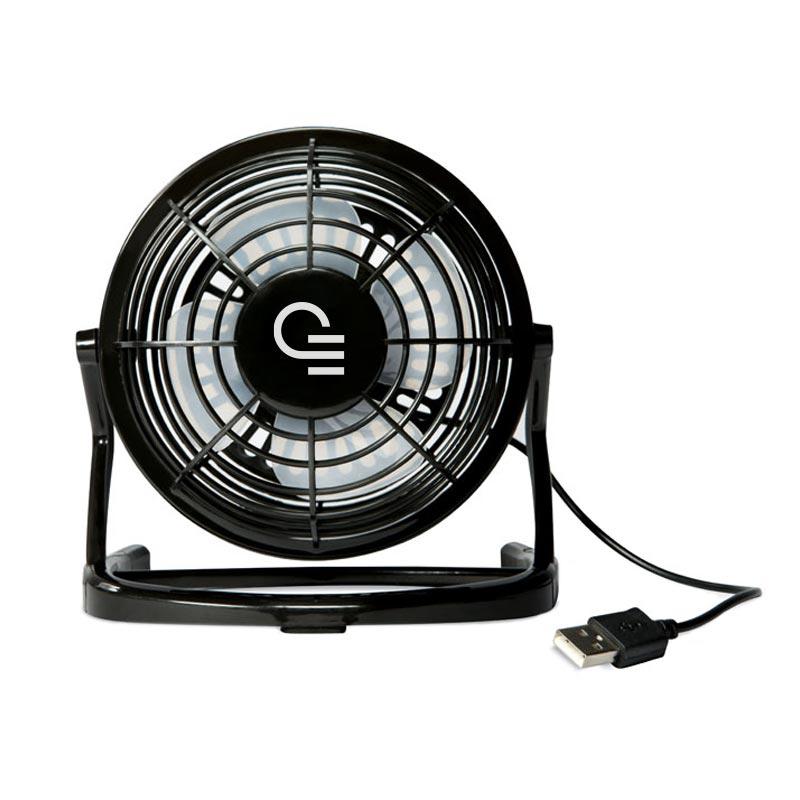 Ventilateur publicitaire en ABS Airy - Coloris noir