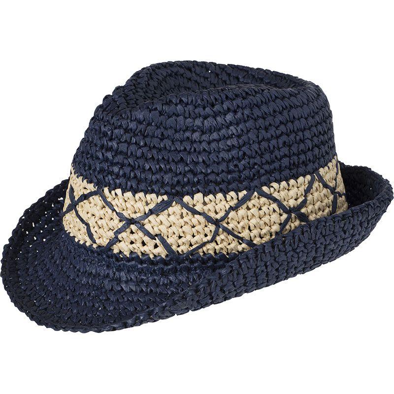 Chapeau personnalisé Tressé - marine