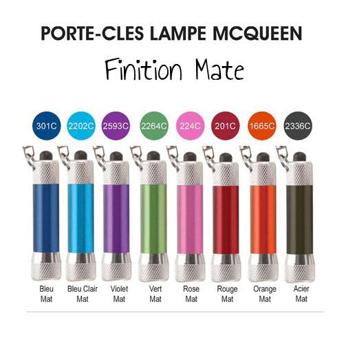 Goodies original - Porte-clés lampe publicitaire McQueen