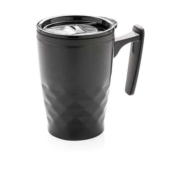 Tasse personnalisable Triangolo noire - tasse promotionnelle