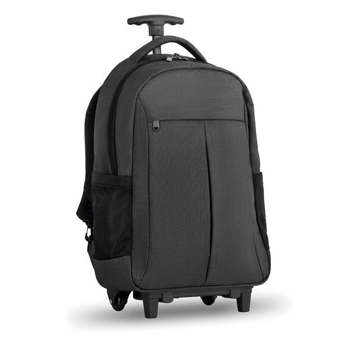 Trolley publicitaire sac à dos ordinateur Stockholm -bagage personnalisé