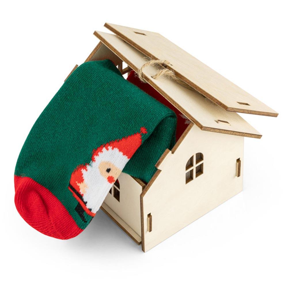 Chaussettes publicitaires pour enfant Santa 2