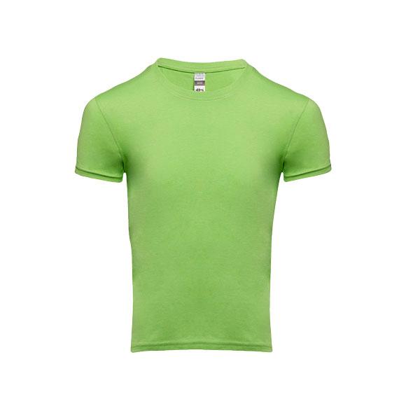 T-shirt personnalisable unisexe pour enfant Quito couleur vert clair