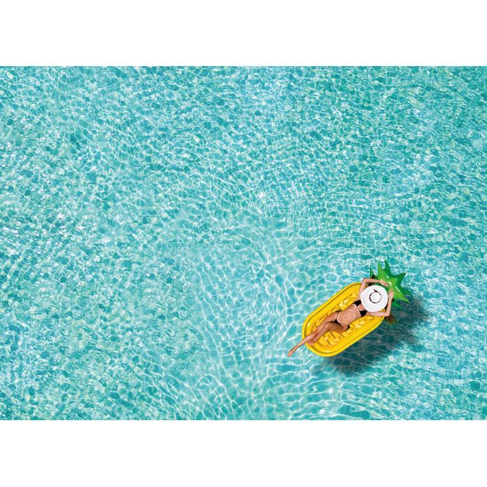 cadeau d'entreprise - Matelas de plage publicitaire ananas Pina