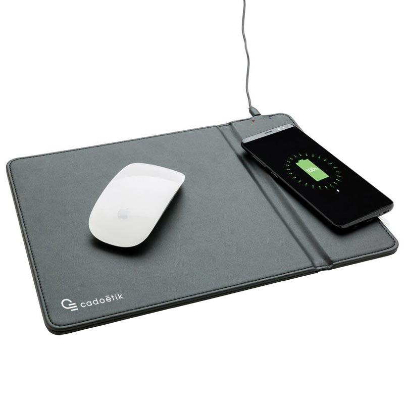 Tapis des souris publicitaire avec chargeur induction Freel