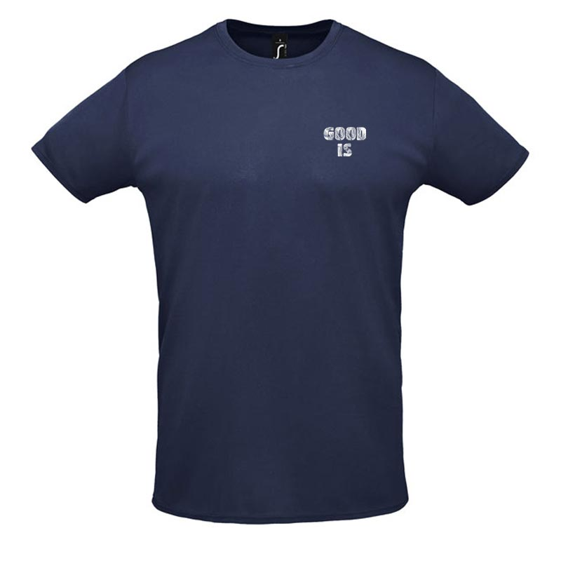 T-shirt publicitaire Sprint - Coloris bleu