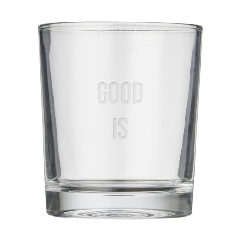 Set carafe et verres publicitaires Lanee - Verre personnalisable