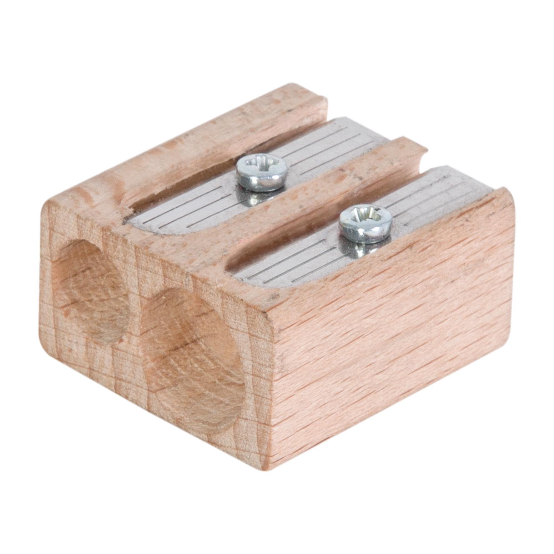goodies écologique - taille crayon à personnaliser en bois Woody