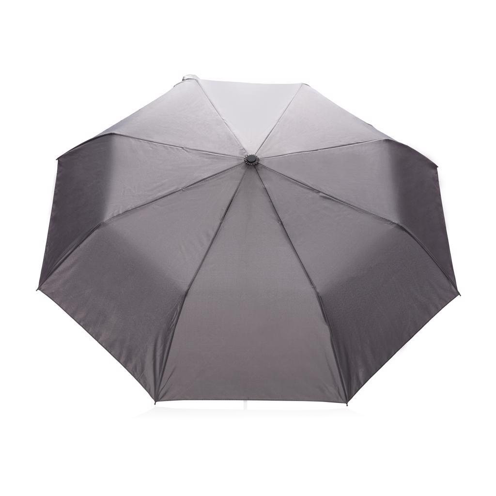Cadeau entreprise - Parapluie publicitaire gris