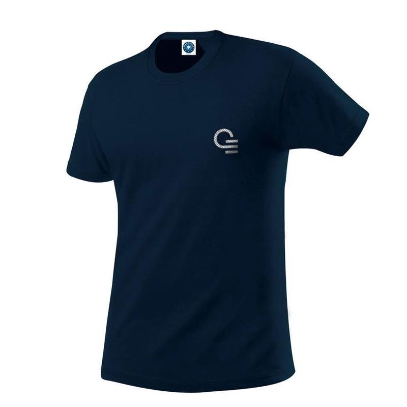 T-shirt publicitaire homme en coton bio Organic Tee - Coloris bleu
