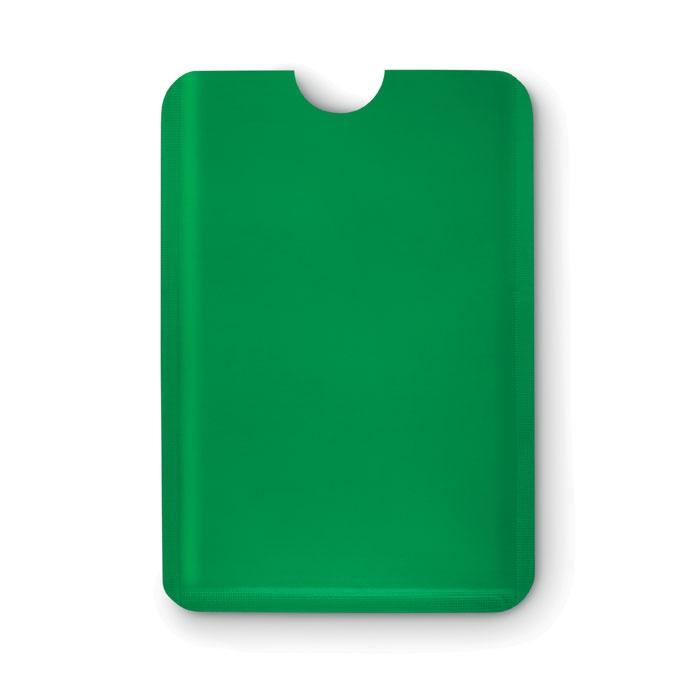 Porte-cartes publicitaire RFID Guardian - blanc