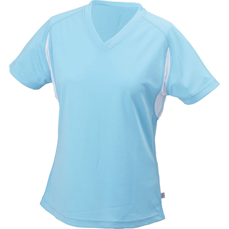 Tee-shirt running publicitaire Femme Lucie - Objet publicitaire textile
