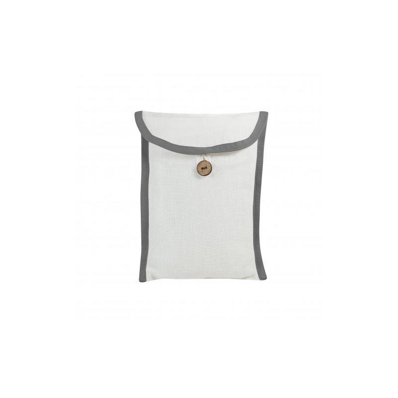Pochette personnalisable pour foulard - gris