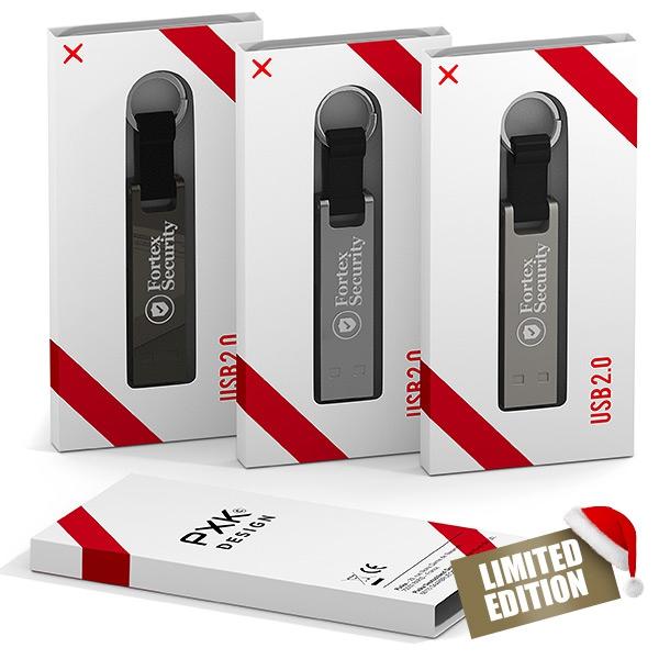 Clé USB publicitaire Iron Stick