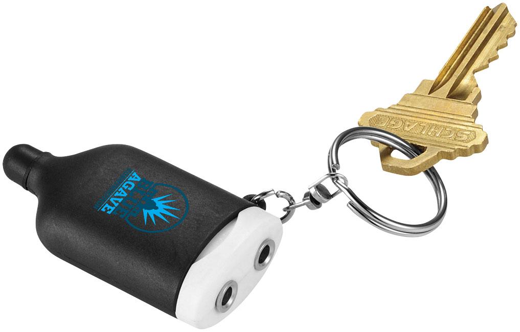 Porte-clés publicitaire 2 en 1 Medley - Cadeau publicitaire high-tech