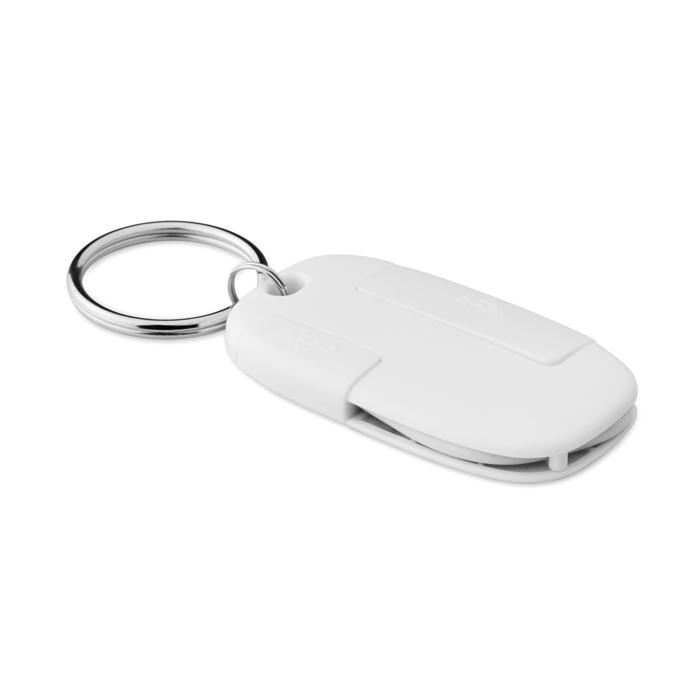 Hub porte-clé port USB type C et micro USB Kirbud à personnaliser