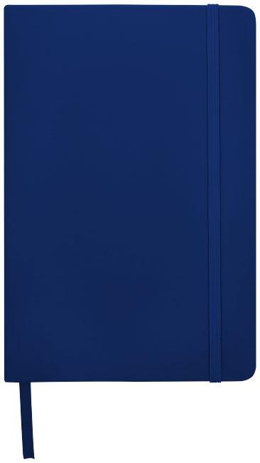 Carnet de notes personnalisé A5 Spectrum avec pages blanches - carnet de notes publicitaire