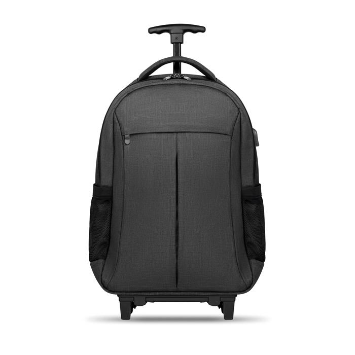 Sac à dos ordinateur et trolley de voyage avec port USB Stockholm -bagage personnalisé