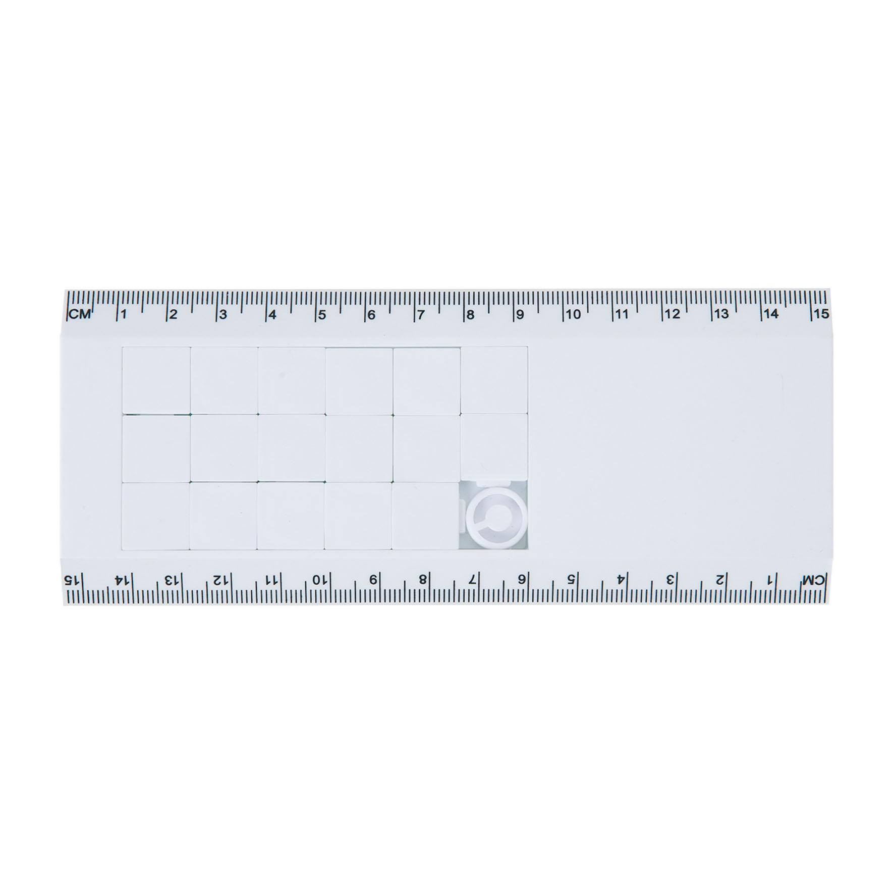 Objet publicitaire - Règle 15 cm puzzle Tetrix