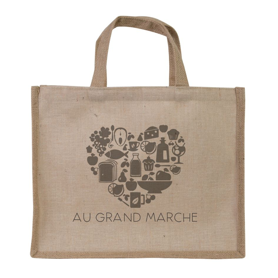 Sac shopping personnalisable écologique Juco - sac shopping promotionnel
