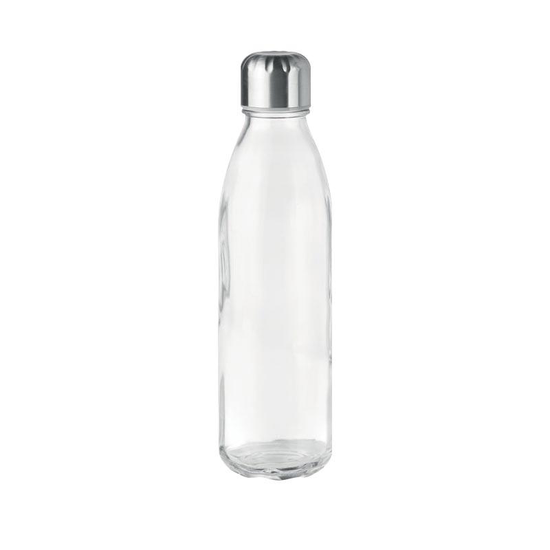 Bouteille en verre Aspen personnalisable - Transparent