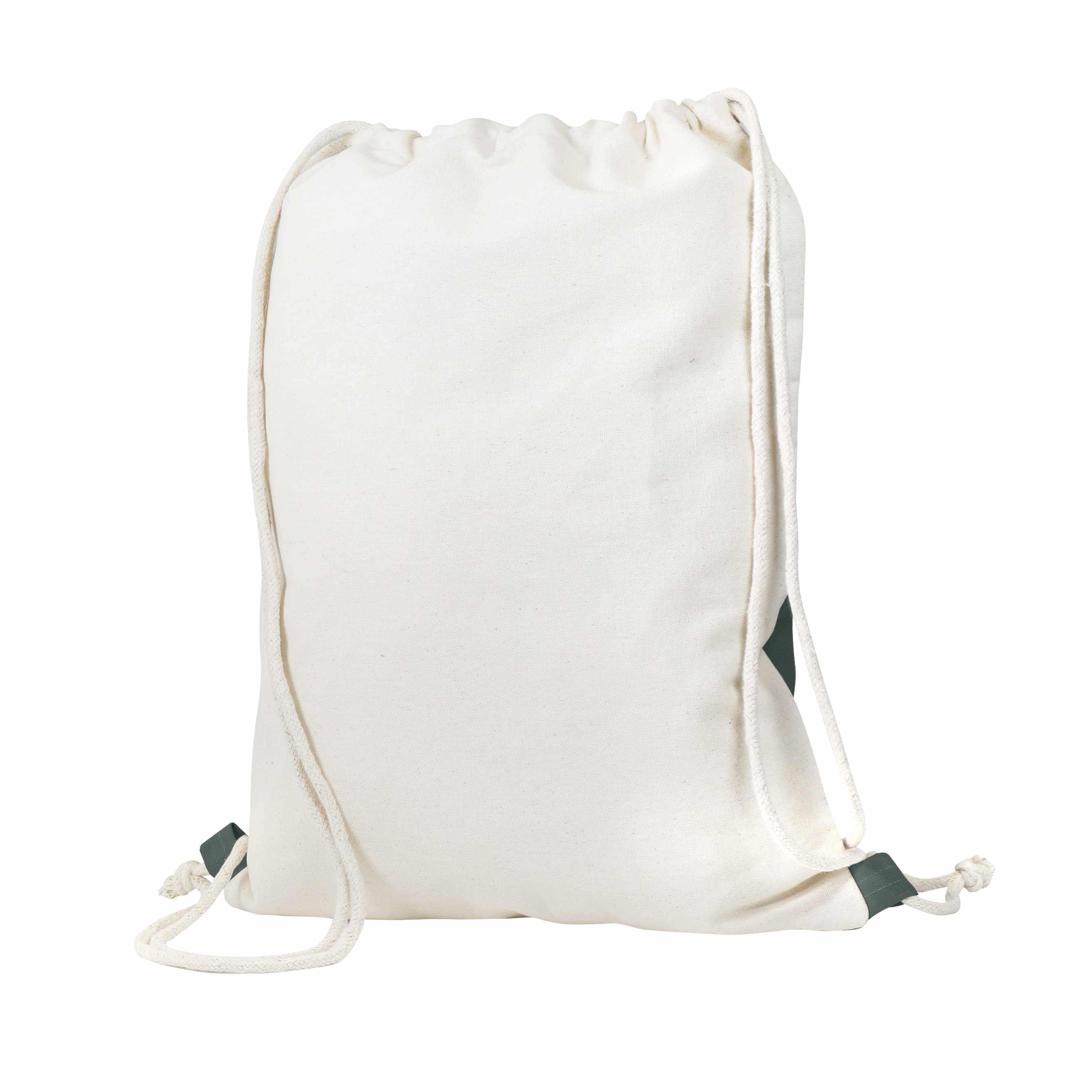 Gymbag publicitaire écologique Rectoverso - sac coton à ficelle personnalisé