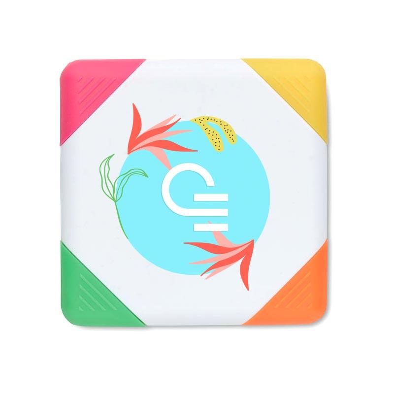 Surligneur publicitaire 4 couleurs Squarie