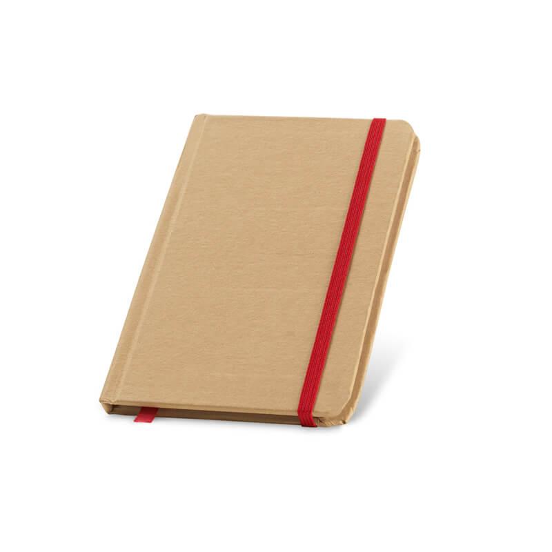 Carnet personnalisable Orga - Rouge