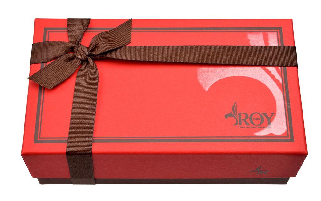 Chocolat publicitaire - Boîte de chocolats Truffes 400 g