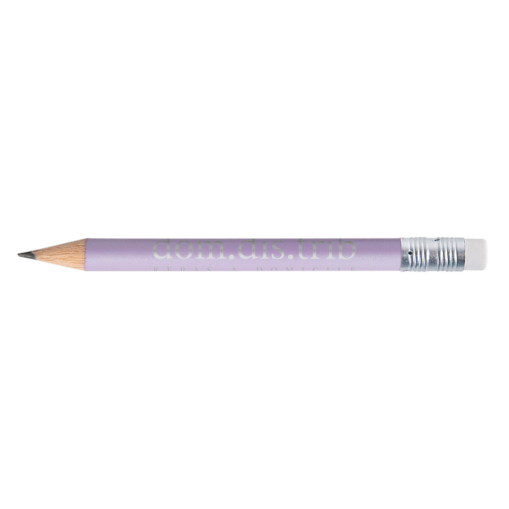 goodies - mini crayon à papier personnalisé écolo Pantone gomme Luis