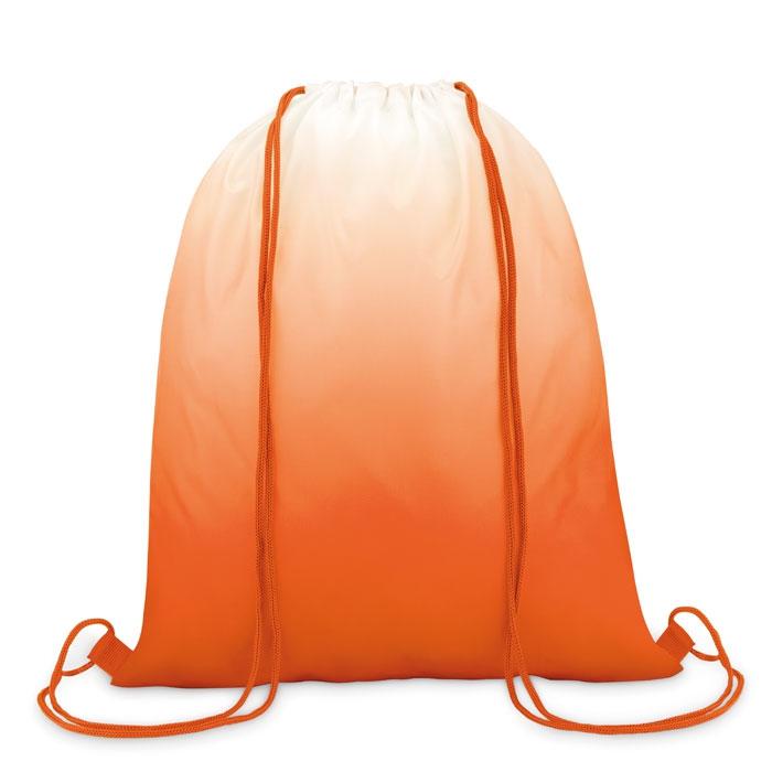 sac publicitaire à cordelettes - gymab promotionnel dégradé couleur Fade