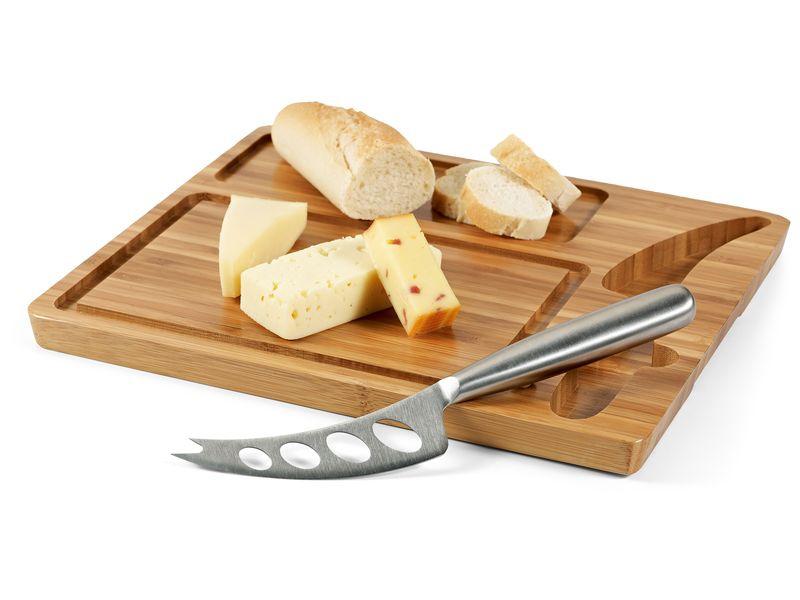 Cadeau d'entreprise écologique - Plateau à fromage personnalisé Souris