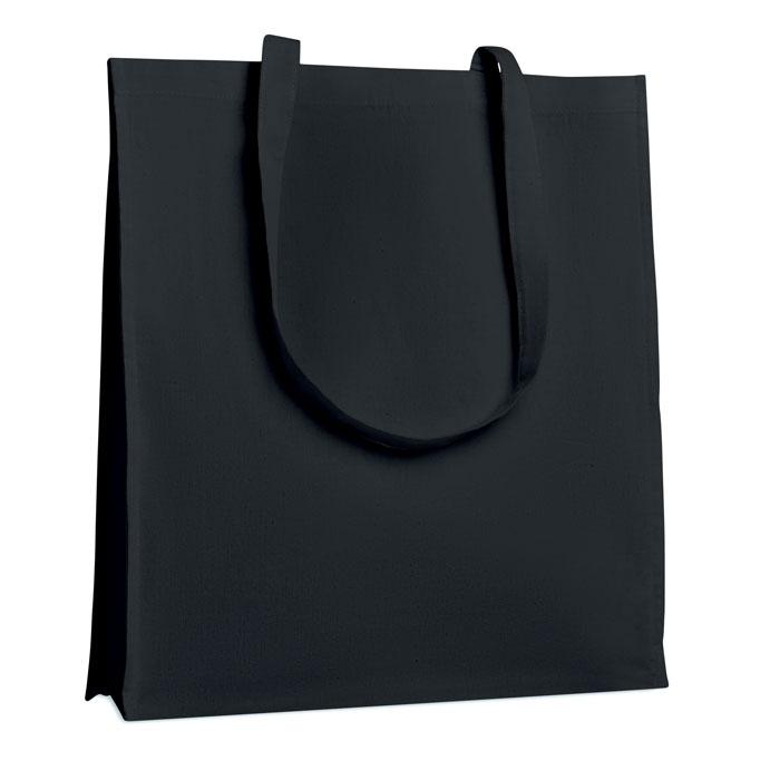 Sac shopping publicitaire Trollhättan - noir