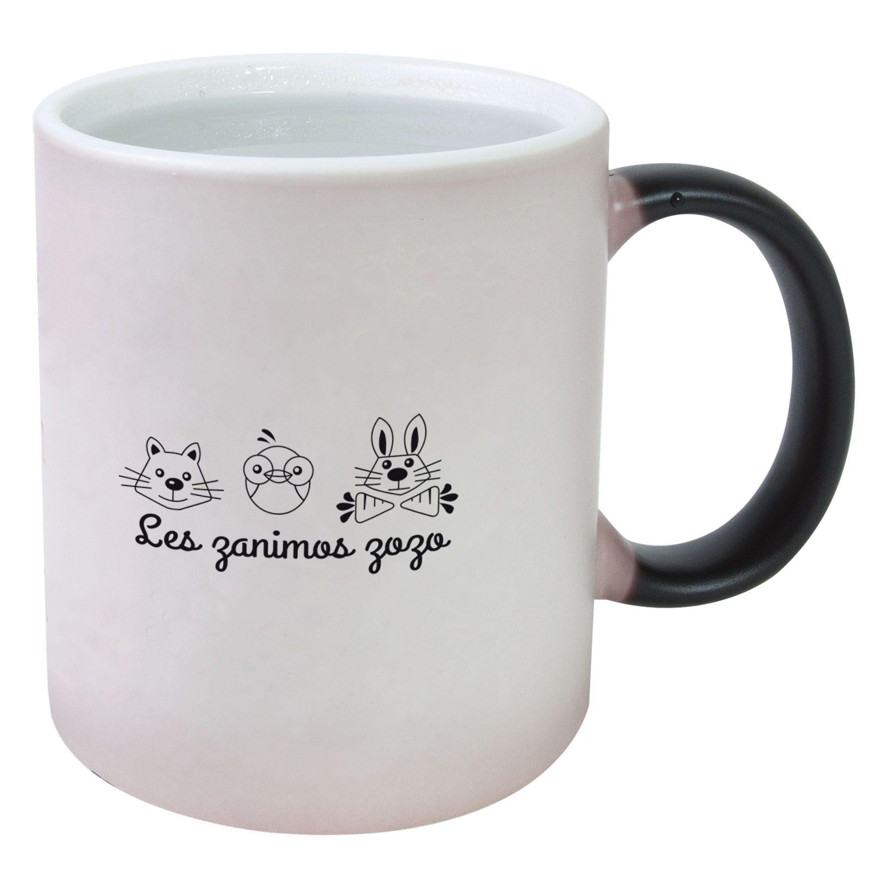 Cadeau promotionnel - Mug publicitaire magique 31cl