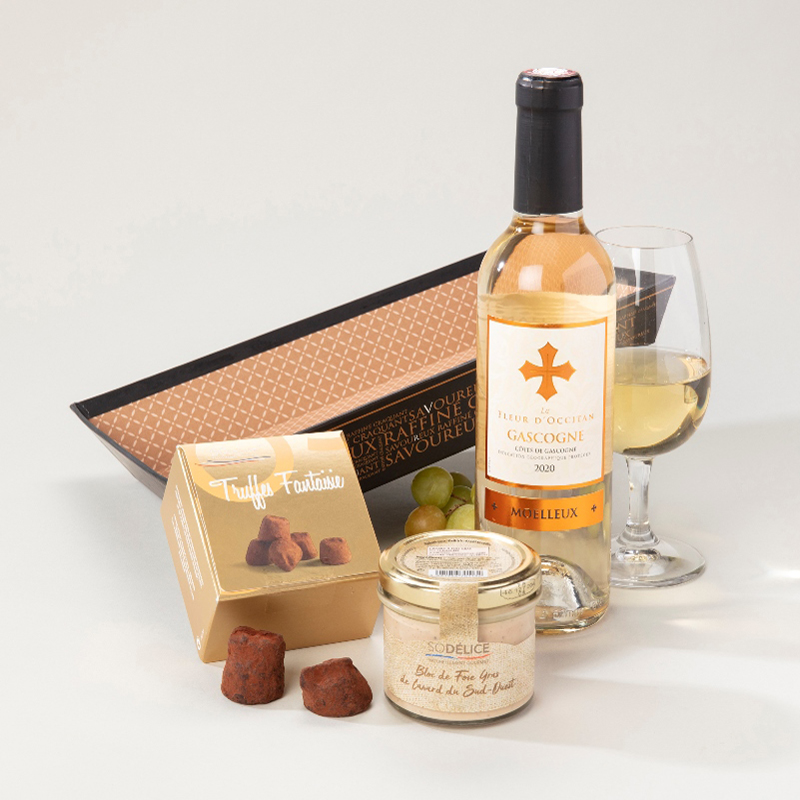 Panier garni 3 spécialités Trio Gourmet