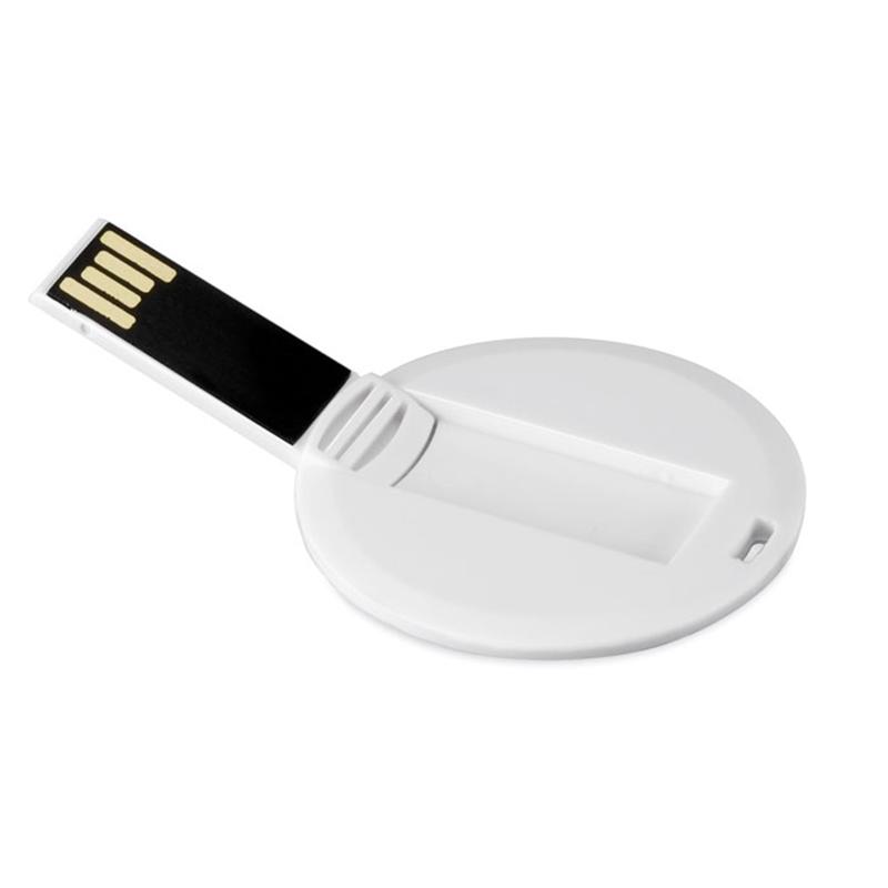 Cadeau publicitaire - Clé USB publicitaire Round Card