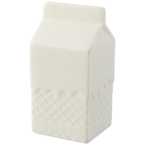 Goodies fun - Anti-stress personnalisable à mémoire de forme Brique de lait Mina