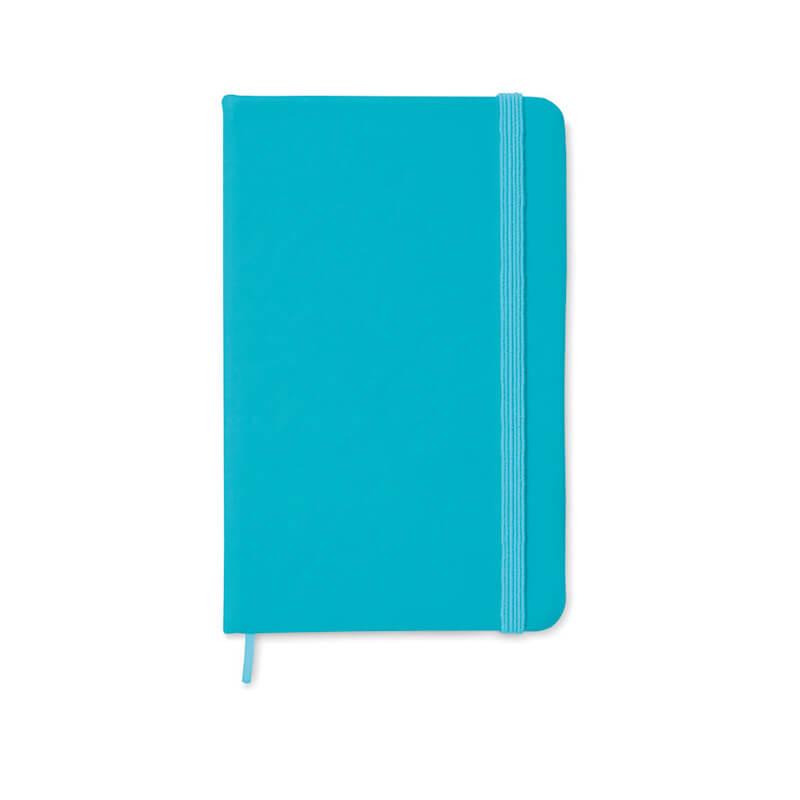 Carnet A6 96 pages lignées Notelux - bleu