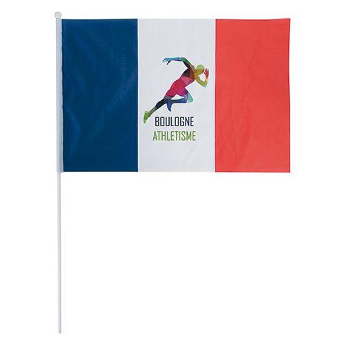 goodies tricolore - drapeau français personnalisé 45 x 30 cm