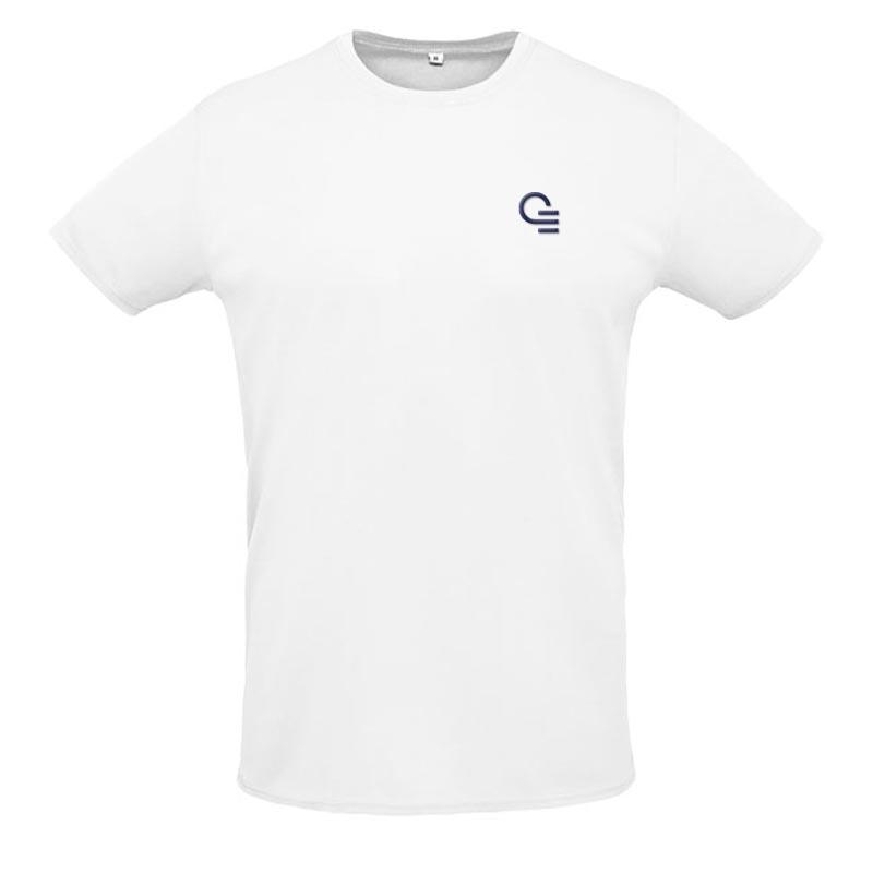 T-shirt publicitaire Sprint - Coloris blanc