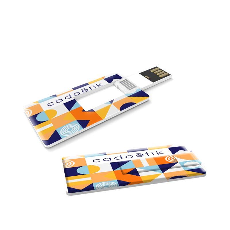 Cadeau publicitaire - Clé USB publicitaire carte de crédit Mini