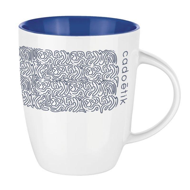Mug publicitaire Pics Elite Inside 250mL - Coloris bleu