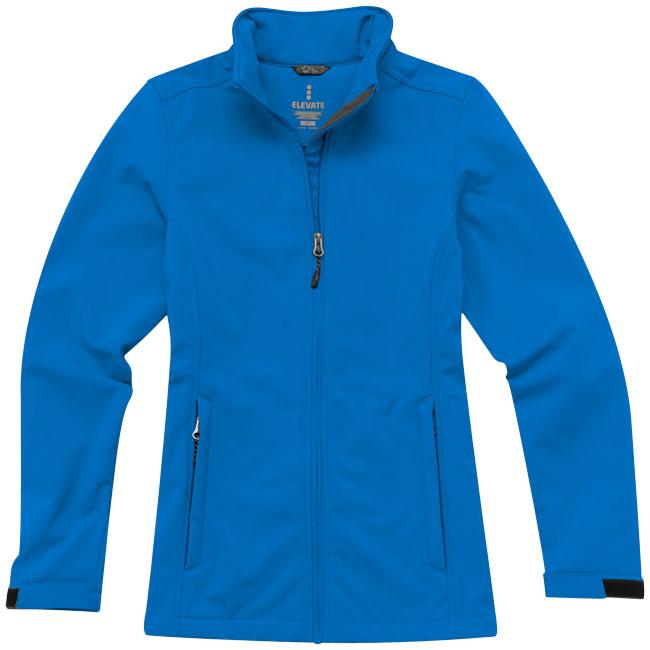 Veste publicitaire femme Maxson - veste softshell personnalisable
