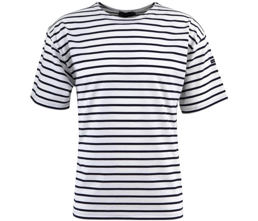 T-shirt publicitaire marinière en coton Armor Lux 135 g