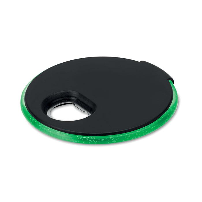 goodies - sous-verre à personnaliser avec lumière LED et décapsuleur Coaster